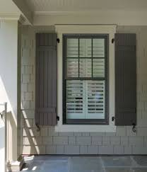 Spray Paint Vinyl Shutters - home interior tips on painting your exterior shutters grey paint