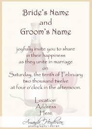 wedding ceremony invitation wording invitation wording for wedding ceremony only marvelous invitation