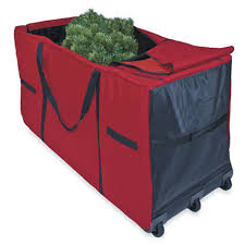 christmas tree storage box christmas tree storage bag with wheels from camerons products