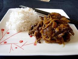 cuisine chinoise boeuf aux oignons boeuf à l oignon la fourchette gourmande