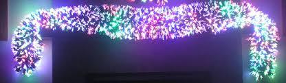fiber optic garland