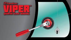 equalizer viper quarter glass removal youtube