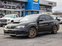 modified subaru used 2014 subaru impreza sti black on black mint never modified