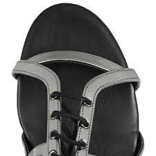 Shoo Zinc lyst stella mccartney zinc sandals in metallic