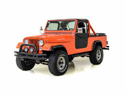 jeep scrambler 1982 classic jeep cj8 scrambler for sale on classiccars com