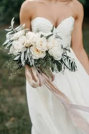 wedding ribbon 92 best bouquet ribbons stems images on bridal