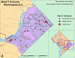 Washington Dc On The Map by Austin Adkison Module 3 Land Partitioning Systems Map Design