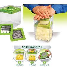 Potato Storage Container Kitchen 2017 New Vegetable Slicer Cutter Nicer Dicer Cutting Slicing