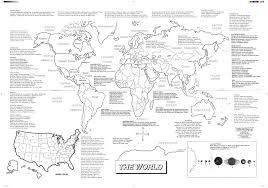 World Map With Ocean Labels by Kathy Troxel Audio Memory 800 365 Sing Call To Order