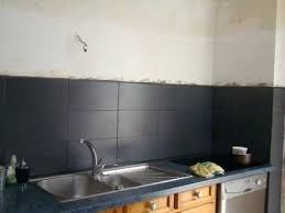 pose carrelage mural cuisine cuisine carrelage mural noir utoo me