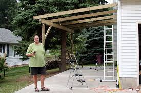 pdf diy how to build an attached carport plans download how to