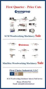 Woodworking Machinery Show Atlanta by Scm Group Subsidiary Scm Tecmatic Was One Of The Leading