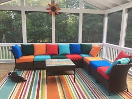 Recovering Patio Chair Cushions by Patio Furniture Cushions Furniture Design Ideas