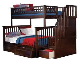 bunk beds bunk beds with stairs and storage full on full bunk