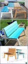 How To Make Picnic Bench Diy Outdoor Table Ideas U0026 Projects Free Plans Instructions