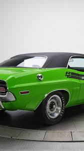 Dodge Challenger Green - download 1080x1920 dodge challenger r t 383 magnum green back