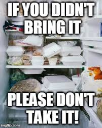 Fridge Meme - work fridge meme generator imgflip