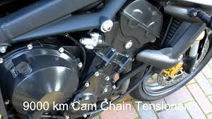 triumph street triple 675 cam chain rattle youtube