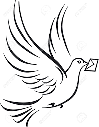 151 homing pigeon stock vector illustration and royalty free