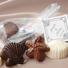Themed Favors by Chocolate Shell Wedding Favors