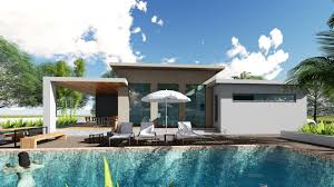 3 bedroom house designs sketchup 3 bedroom exterior house design 14x17m from blueprint plan