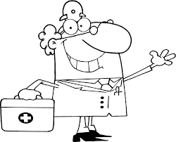 doctor coloring pages coloringsuite