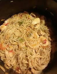 cuisine chinoise poulet nouilles chinoises au poulet recettes cookeo