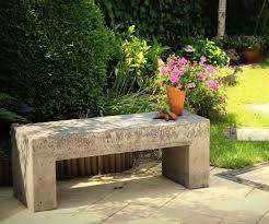 Building A Garden Bench Seat Stone Garden Bench Seat Home Outdoor Decoration