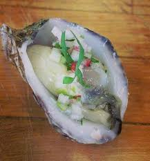 mignonette cuisine fresh kusshi oysters with seasonal mignonette picture of the