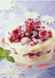 cuisine notrefamille noël nos desserts glacés vacherin glacé aux fruits rouges