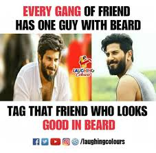 Meme Beard Guy - every gang of friend has one guy with beard laughino tag that