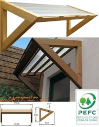 Door Awning Plans How To Build An Awning Over A Garage Door How To Build An Awning