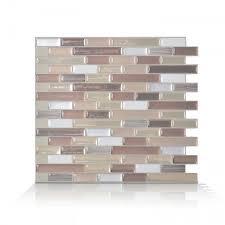 Peel And Stick Tile Backsplash Muretto Durango Smart Tiles - Smart tiles backsplash