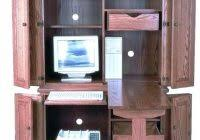 Amish Computer Armoire Computer Armoire Amish Corner Computer Armoires For The Most