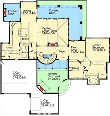 Tuscan Villa House Plans by 106 Best House Plans Images On Pinterest House Floor Plans