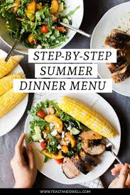 best 25 summer dinner party menu ideas on pinterest party menu