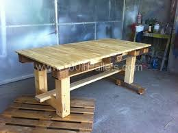 Outdoor Pallet Table 17 Brilliant Diy Pallet Tables
