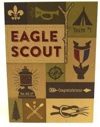 eagle scout congratulations card eagle scout card