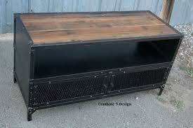Midcentury Modern Tv Stand - buy a hand made vintage industrial tv stand steel u0026 reclaimed