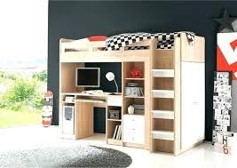 lit bureau combiné lit mezzanine avec penderie lit mezzanine bureau combine lit
