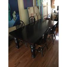 restoration hardware dining table w 6 chairs aptdeco