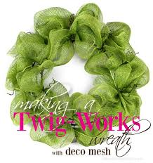 mardi gras outlet deco mesh party ideas by mardi gras outlet twig works deco mesh wreath tutorial
