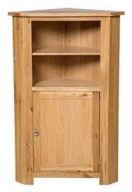 oak finish storage cabinet waverly oak corner storage cabinet in light oak finish low