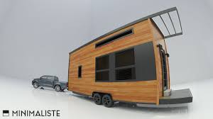 off grid modern tiny house on wheels youtube