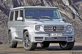 mercedes g wagon spied 2018 mercedes benz g class germancarforum
