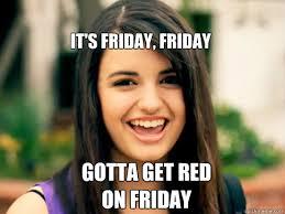 Rebecca Black Memes - days of the week with rebecca black memes quickmeme