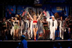 image result for south pacific set design