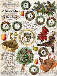 artfully musing 12 days of ornaments and a new collage