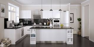open kitchen cabinets modern open white lacquer kitchen cabinet op15 l28 oppein