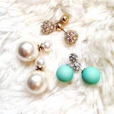 different types of earrings recent trend front to back earrings gal and beauty